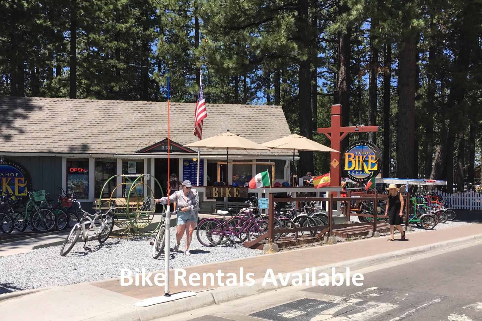 cyc0610 bike rentals