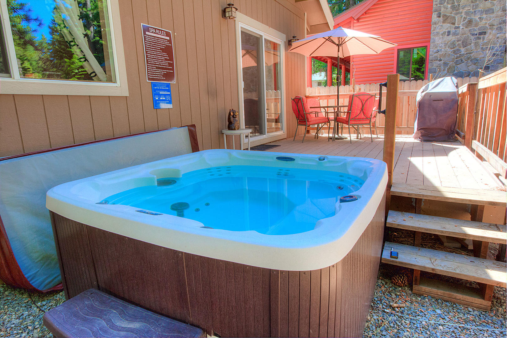 cyh1212 hot tub and deck and bbq