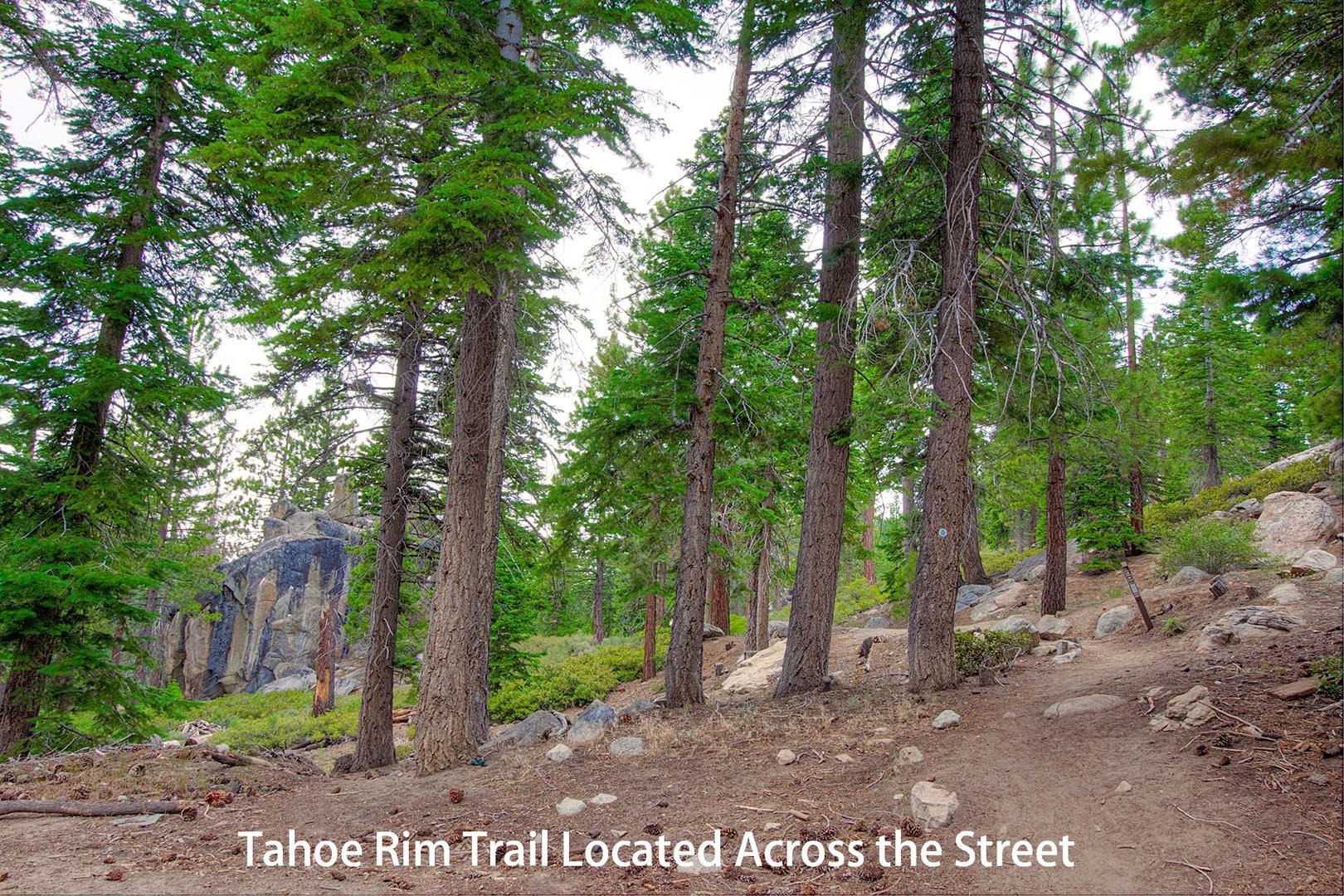 nvh0861 tahoe rim trail trailhead