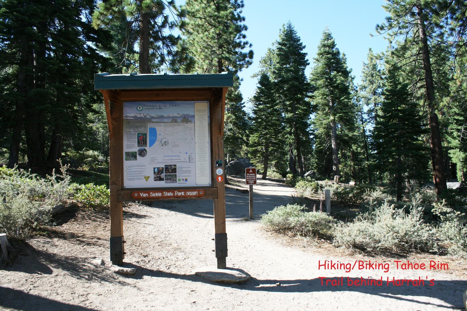 nvh0861 tahoe rim trail
