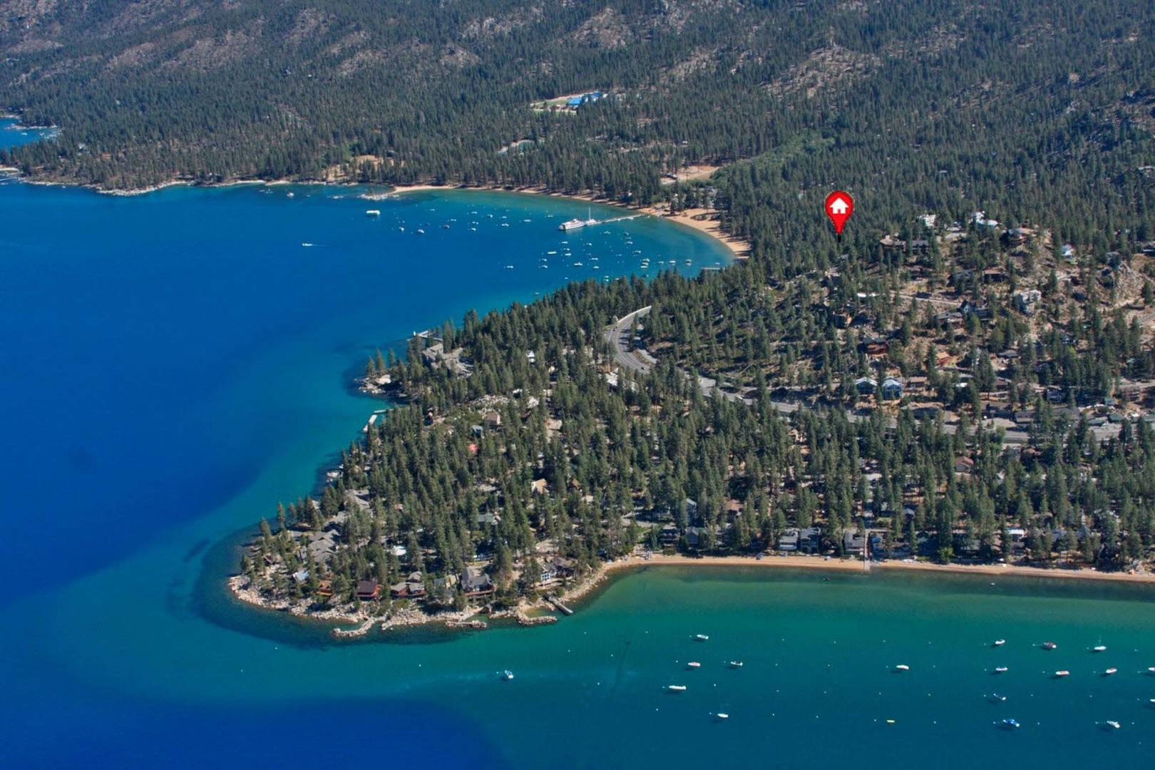 nvh1001 Lake Tahoe Vacation Rental location