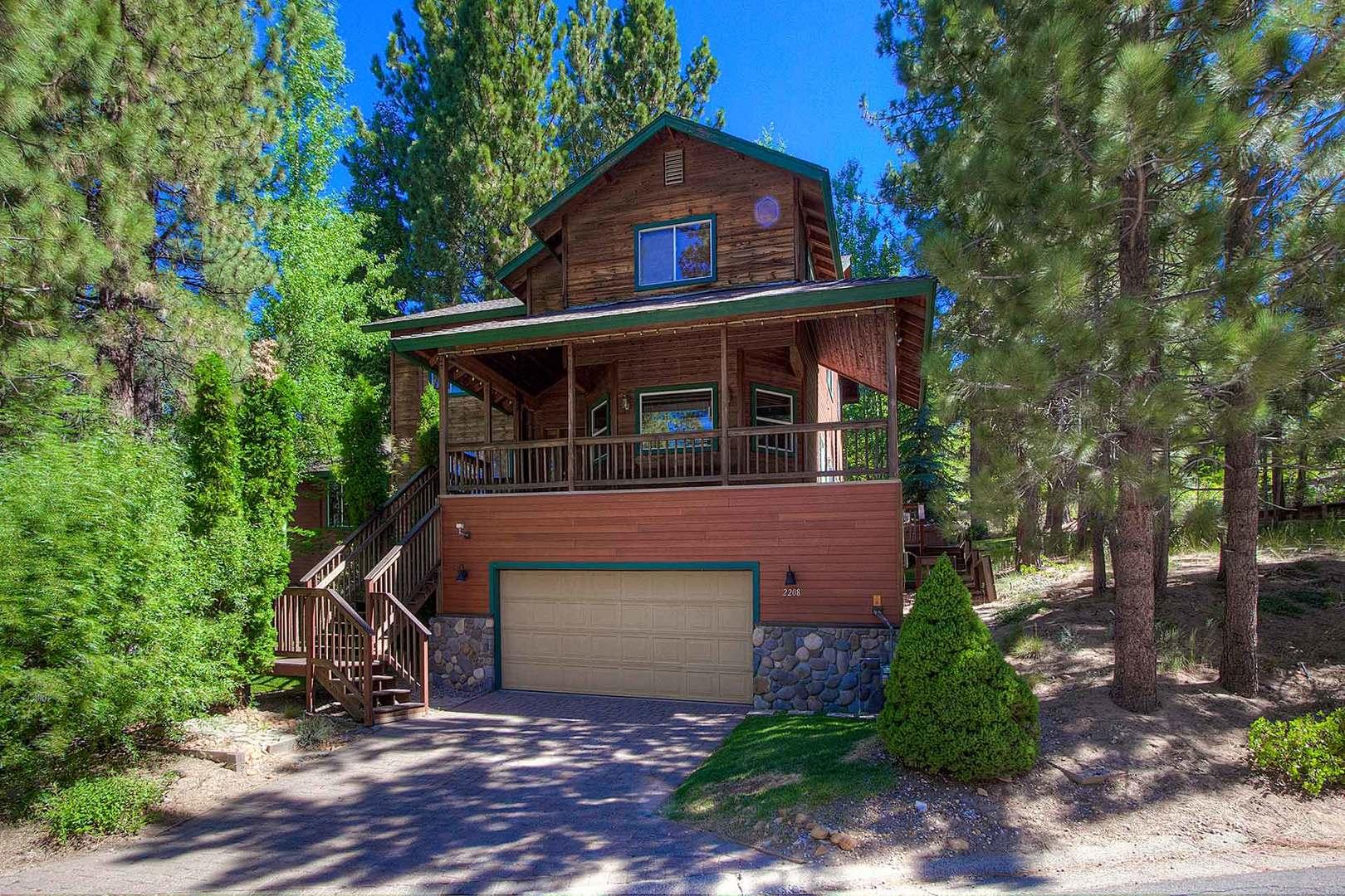hch0808 tahoe rental cabin